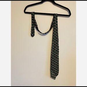 Christmas Tie Vintage Silk Hallmark Mens